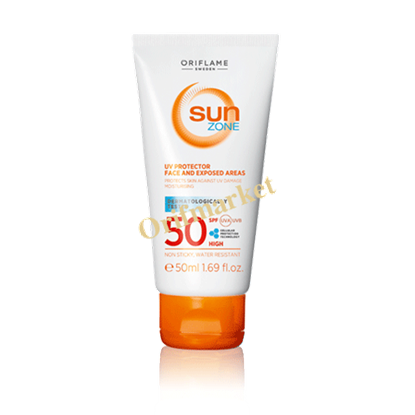 Picture of کرم ضد آفتاب و ضد پیری محافظ UV و ضد آفتاب سان زون  Sun Zone با spf50