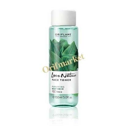 تصویر تونر صورت درخت چای Face toner tea tree oily skin