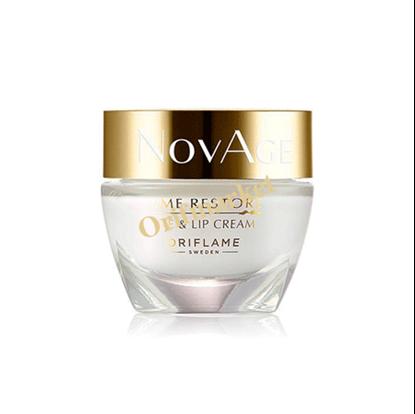 تصویر کرم دوکاره دور چشم و دور لب نویج ریستور بالای 50 سال Novage Time Restore eye & lip Cream +50