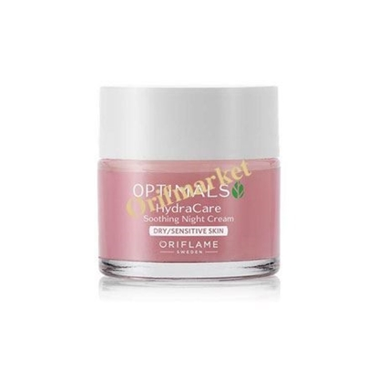 تصویر کرم شب نرم کننده و مغذی و احیاکننده هیدرا اپتيمالز (مخصوص پوست های خشک و حساس) Hydra Care Soothing Night Cream Dry/Sensitive Skin