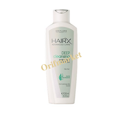 تصویر  شامپو موی چرب هیریکس HairX advanced care deep cleansing purifying shampoo