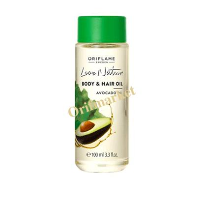 تصویر روغن طبیعی بدن و مو آواکادو لاونیچر  Love Nature Body & Hair Oil Avocado Oil