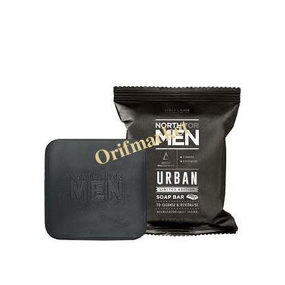 تصویر صابون مردانه جدید نورث North For Men Urban soap bar
