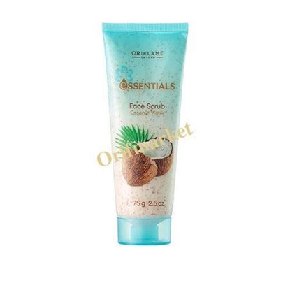 تصویر اسکراب صورت اسنشالز حاوی آب نارگیل Essentials Face Scrub Coconut Water