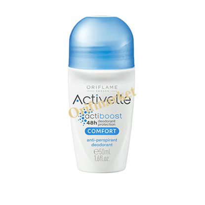 تصویر دئودورانت و ضد تعریق رولی اکتیول با عصاره کتان  Comfort Activelle Anti-perspirant Deodorant