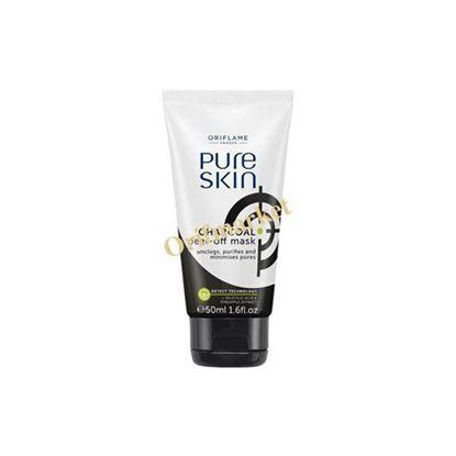 تصویر ماسک ذغال چوب خالص پیور اسکین Pure skin charcoal peel-off mask