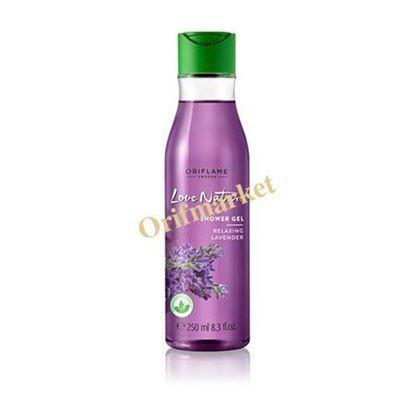 تصویر شامپو بدن ريلکس کننده اسطوقدوس(250 میل) Love Nature Shower Gel Relaxing Lavender